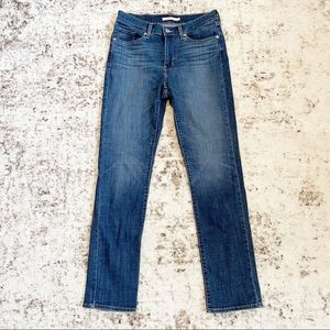 Levi's Classic Straight High Rise Jeans 6T